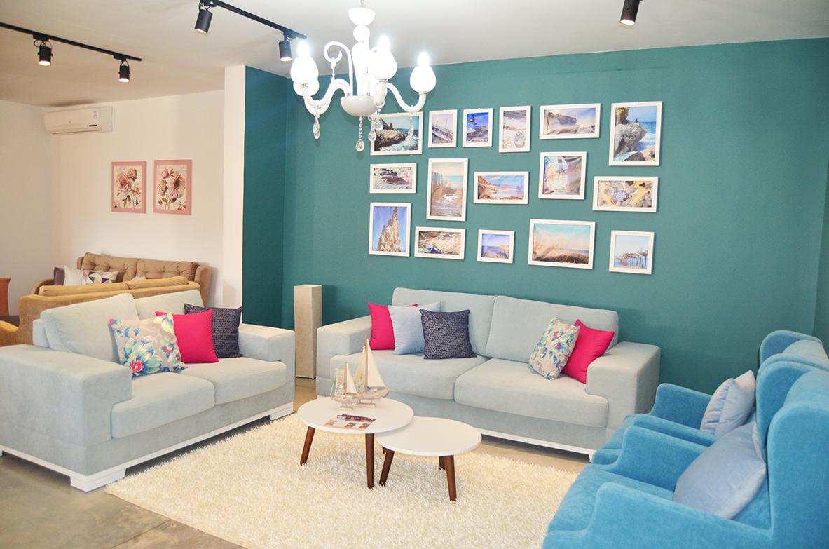 Salon istambul bleu   meubles et décoration tunisie