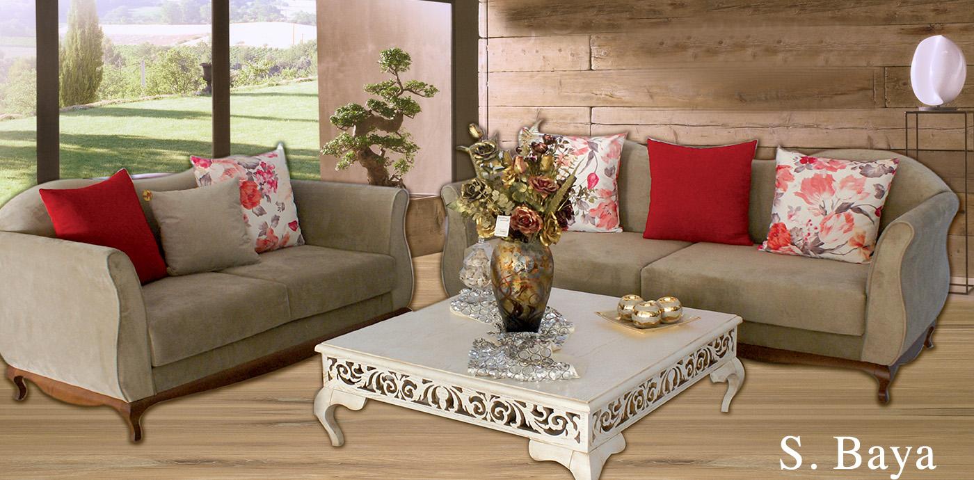 Salon baya 3p 2p   meubles et décoration tunisie