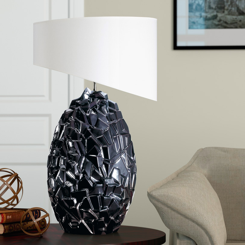 lampe a poser en ceramique erock luminaire interieur archibat expo sarl meubles tunisie 5 Inspirant Lampe A Poser Ceramique Shdy7