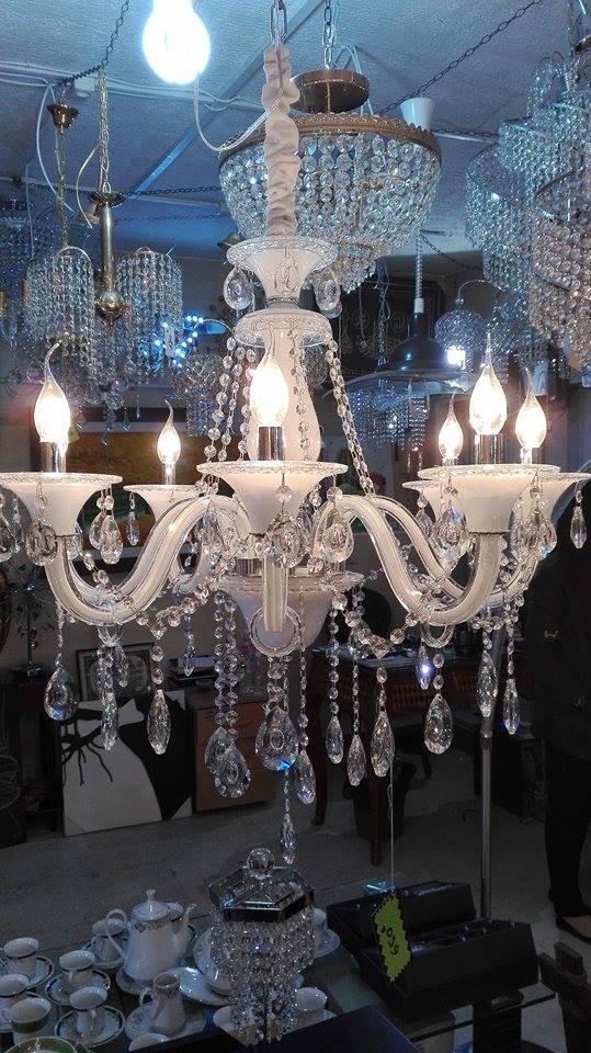 Lustre Morano 8 lumières cristal - Meubles et décoration Tunisie