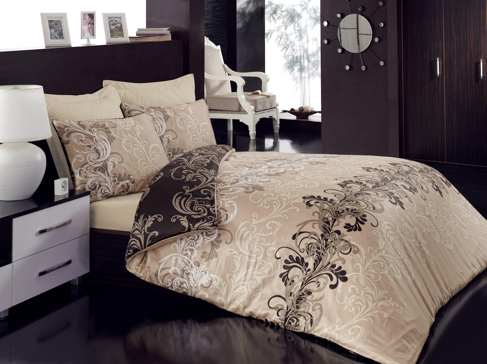 linge de maison parure de lit Parure de lit cemile bej   Meubles et décoration Tunisie linge de maison parure de lit