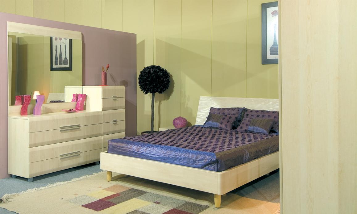 Chambre à coucher Perla - Meubles et décoration Tunisie