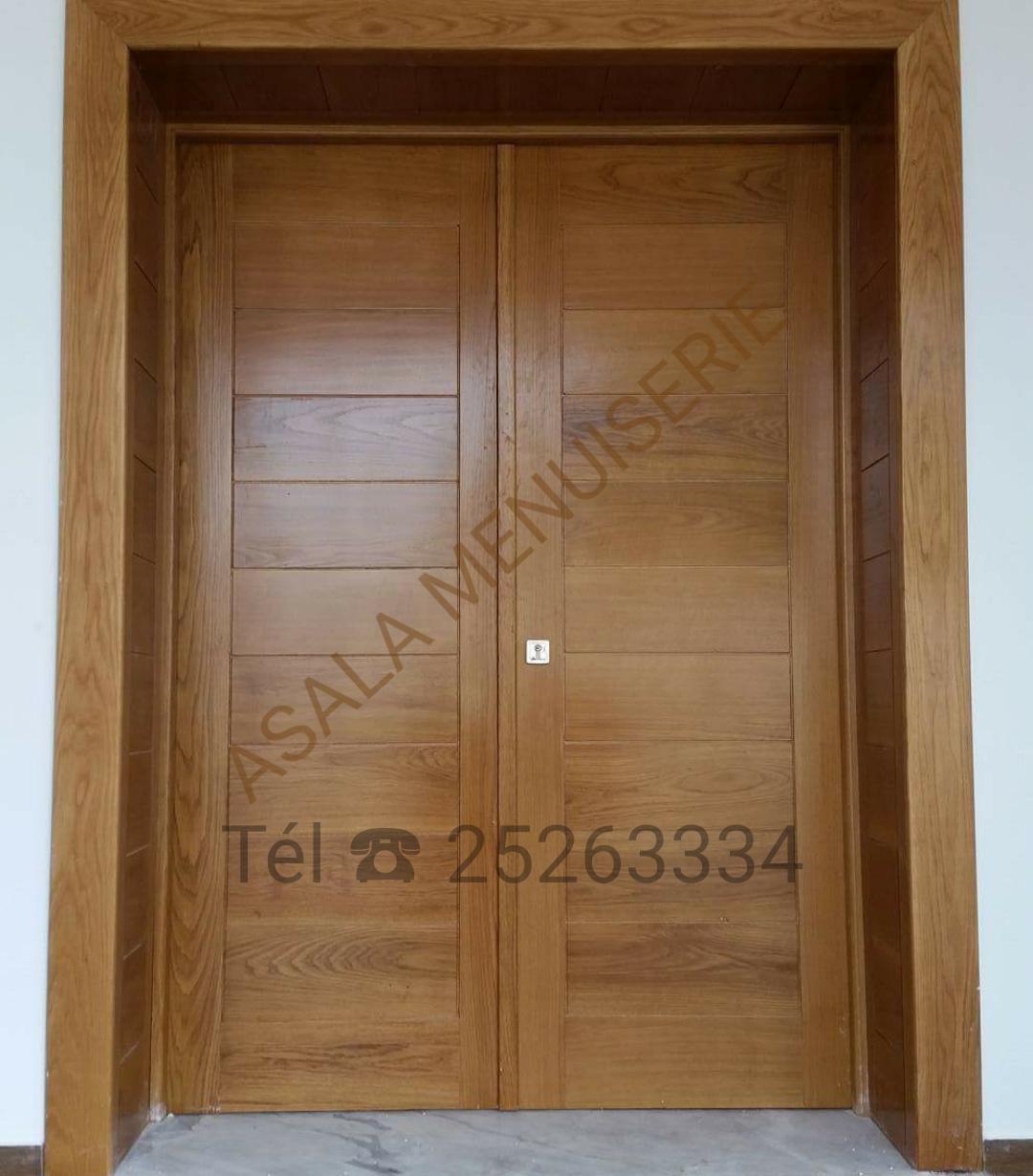 portes haute gamme meubles et dcoration en tunisie - Lit De Chambre En Bois Tunisie