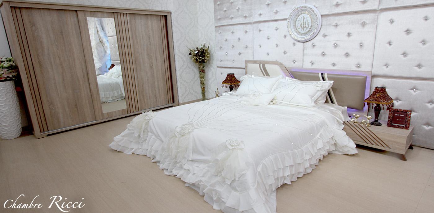 Chambre Ricci - Meubles et décoration Tunisie