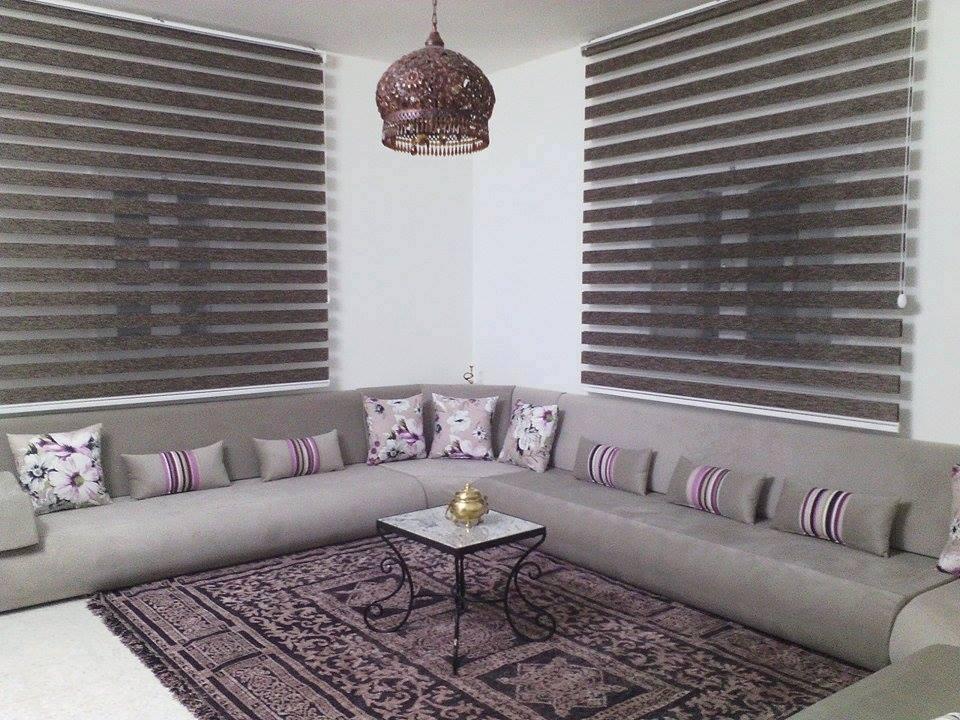 Rideau enrouleur double jeux - Meubles et décoration Tunisie