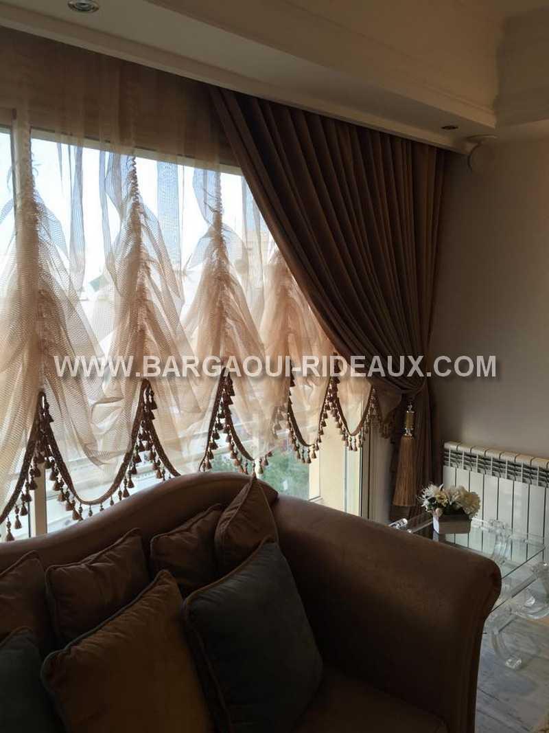 Rideau moderne   meubles et décoration tunisie