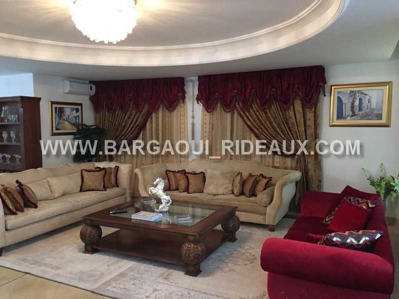 Tissu Rideaux Tunisie. Rideau Anneau Combi. Free Madura Rideaux ...