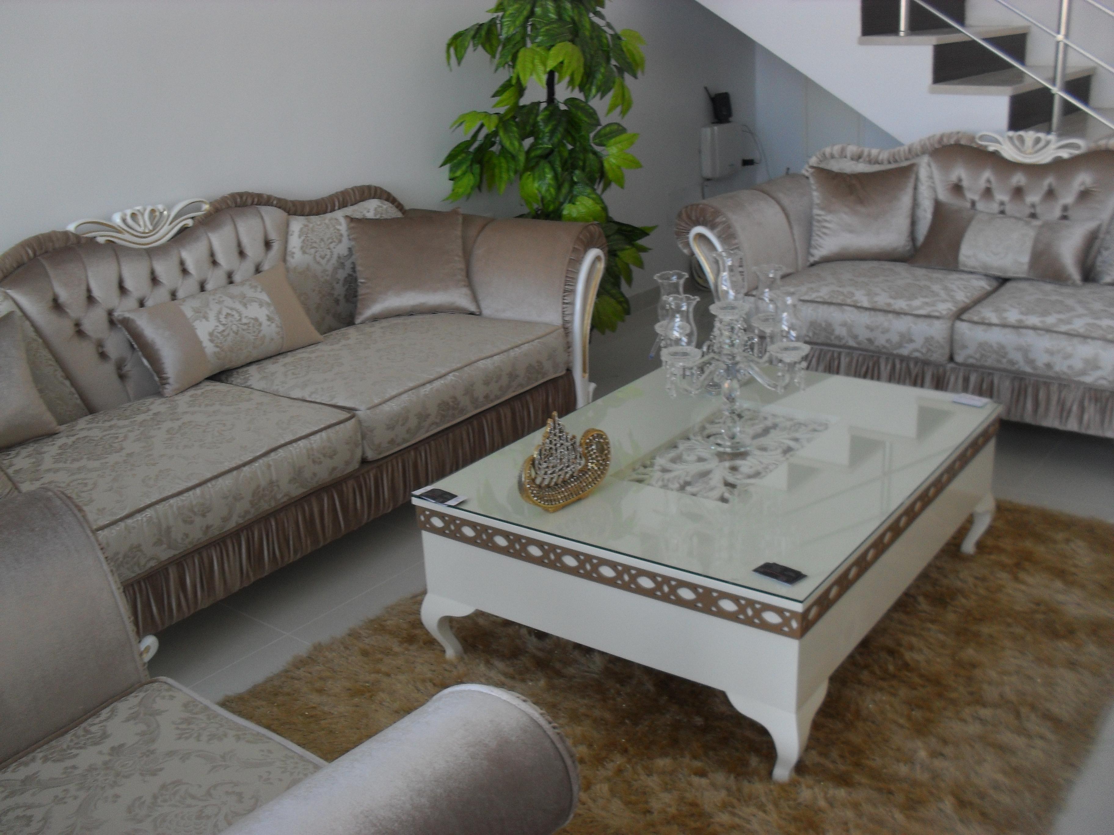 Salon Cristaline Meubles Et D Coration Tunisie # Meuble Decoratif Salon