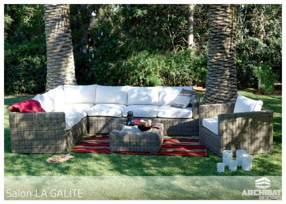 Salon en rotin gallite - Meubles et décoration Tunisie