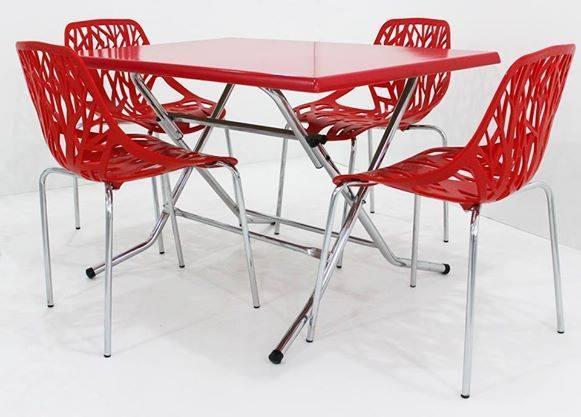 Table Rabatable 04 Chaises Jungle Meubles Et Decoration Tunisie