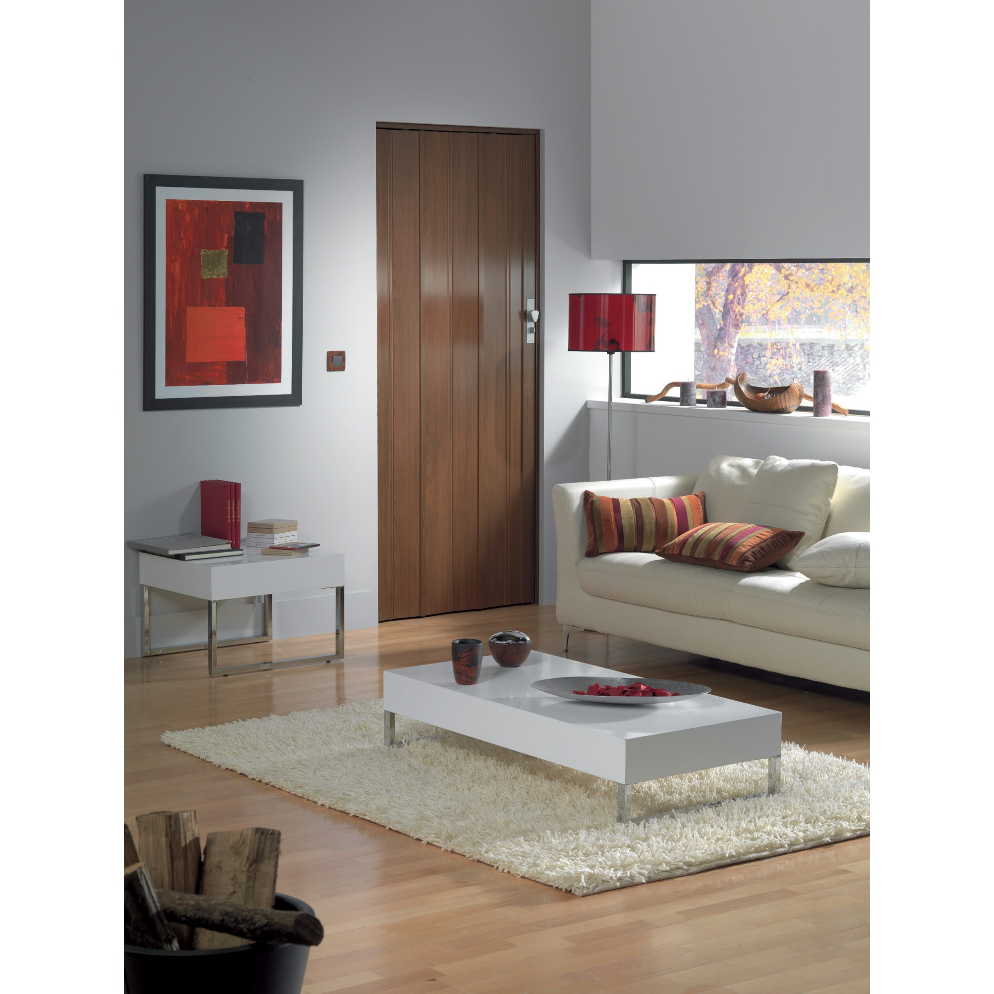 2 portes accord on axia teck meubles et d coration tunisie for Meuble porte accordeon