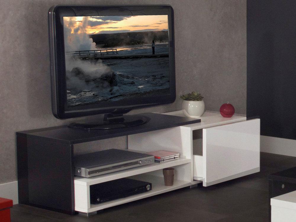 meuble tv avec tiroir casa meubles et d coration tunisie. Black Bedroom Furniture Sets. Home Design Ideas