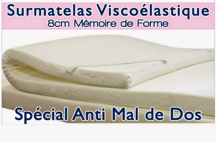 surmatelas viscoelastique konforta 200x180 5cm meubles et d coration tunisie. Black Bedroom Furniture Sets. Home Design Ideas
