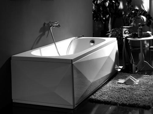 Baignoire bravat mod le diamant meubles et d coration for Meuble salle de bain tunisie
