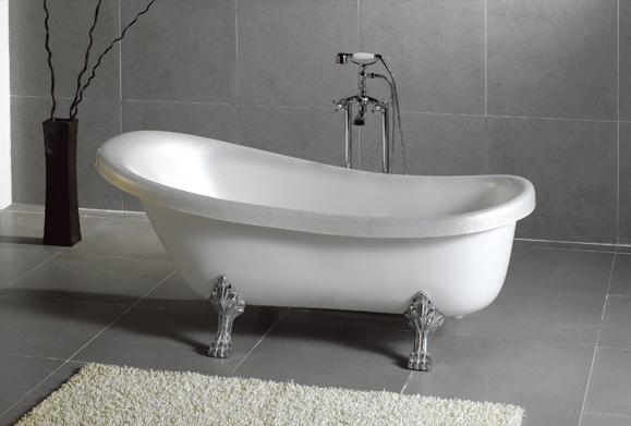 Baignoire sur pieds meubles et d coration tunisie for Meuble salle de bain tunisie