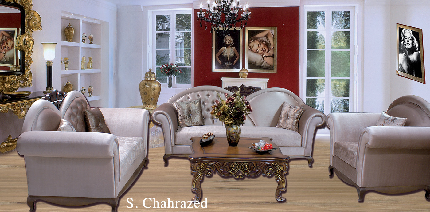 salon chahrazed meubles et d coration tunisie. Black Bedroom Furniture Sets. Home Design Ideas