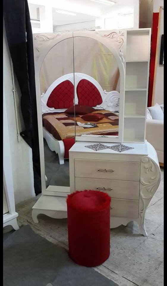 Meuble kelibia chambre a coucher for Meuble arabesque tunisie