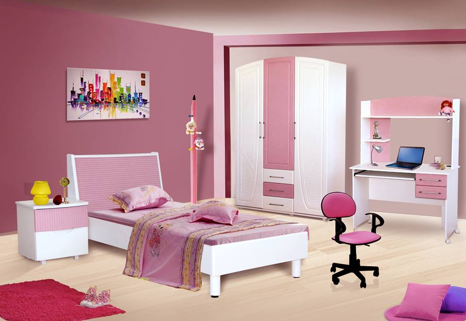chambre d 39 enfant diamant rev tement pvc meubles et d coration tunisie. Black Bedroom Furniture Sets. Home Design Ideas