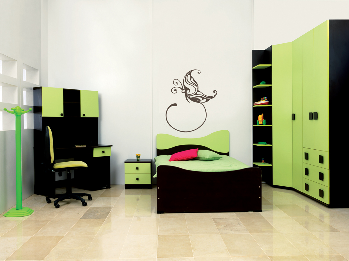 chambre papillon meubles et d coration tunisie. Black Bedroom Furniture Sets. Home Design Ideas