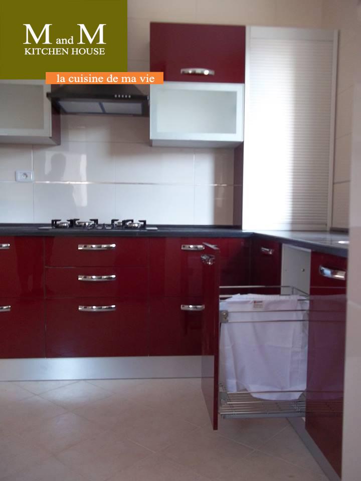 Top cuisine encastrable rouge bordeau meubles et dcoration for Element de cuisine pour four encastrable