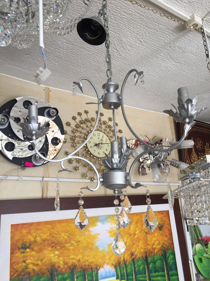 Lustre fer forg 3 1 meubles et d coration tunisie for Images fer forge tunisie