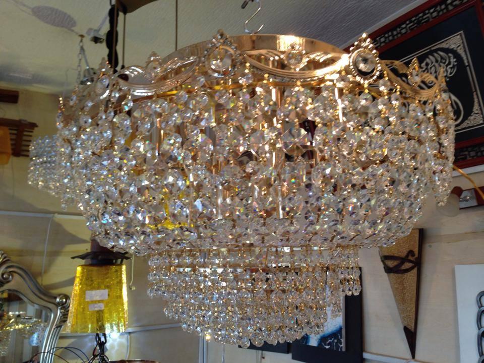 lustre plafonnier 12 lumieres cristal egypte meubles et d coration tunisie. Black Bedroom Furniture Sets. Home Design Ideas