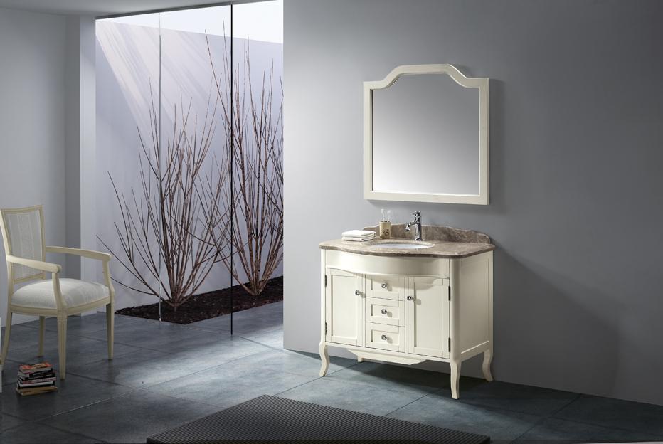 meuble de salle de bain en bois noble meubles et