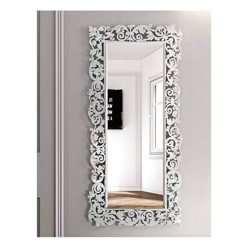 Miroir baroque rectangulaire 2 meubles et d coration tunisie for Miroir design tunisie