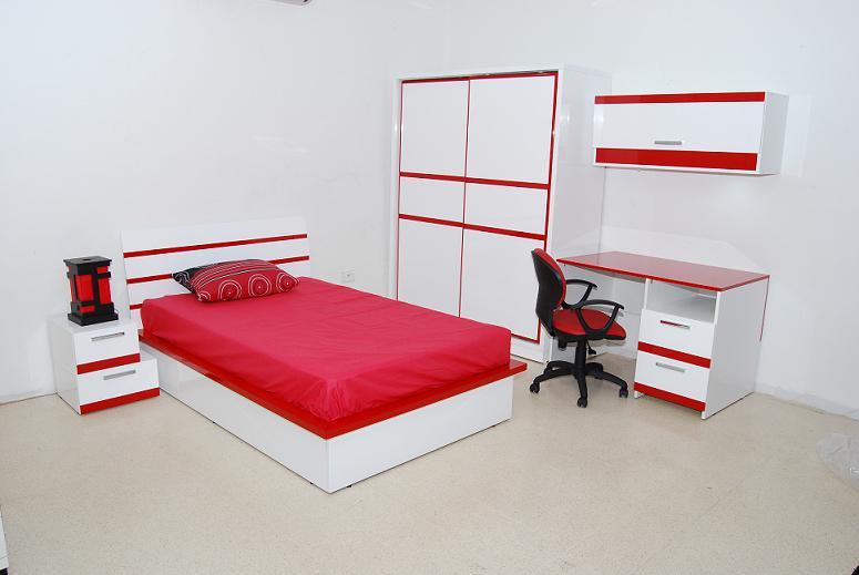 Nour bureau avec niche meubles et d coration tunisie for Bureau meuble tunisie