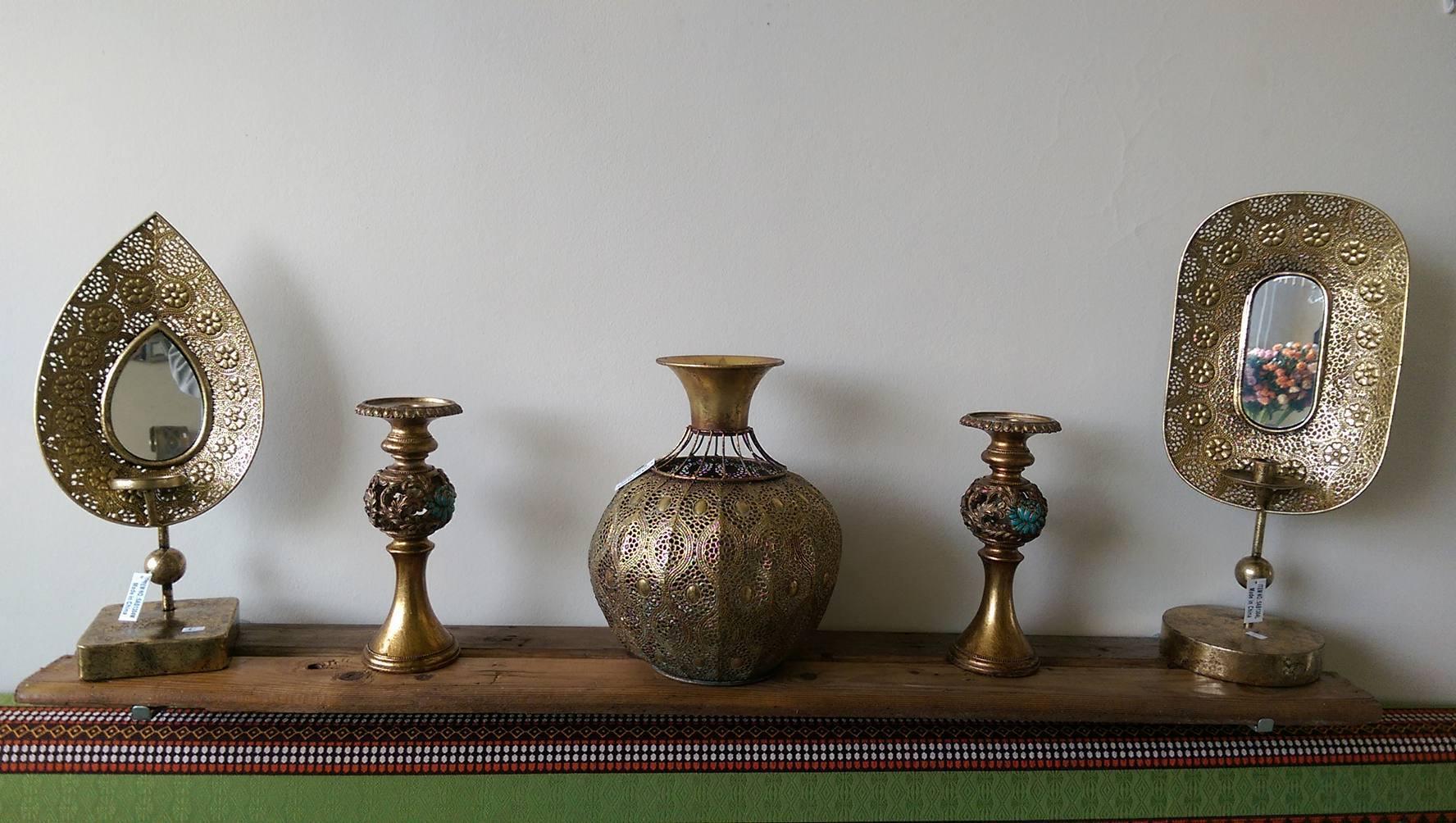 Pack bougeoir 5 pi ces meubles et d coration tunisie for Meuble 5 etoiles tunisie ezzahra