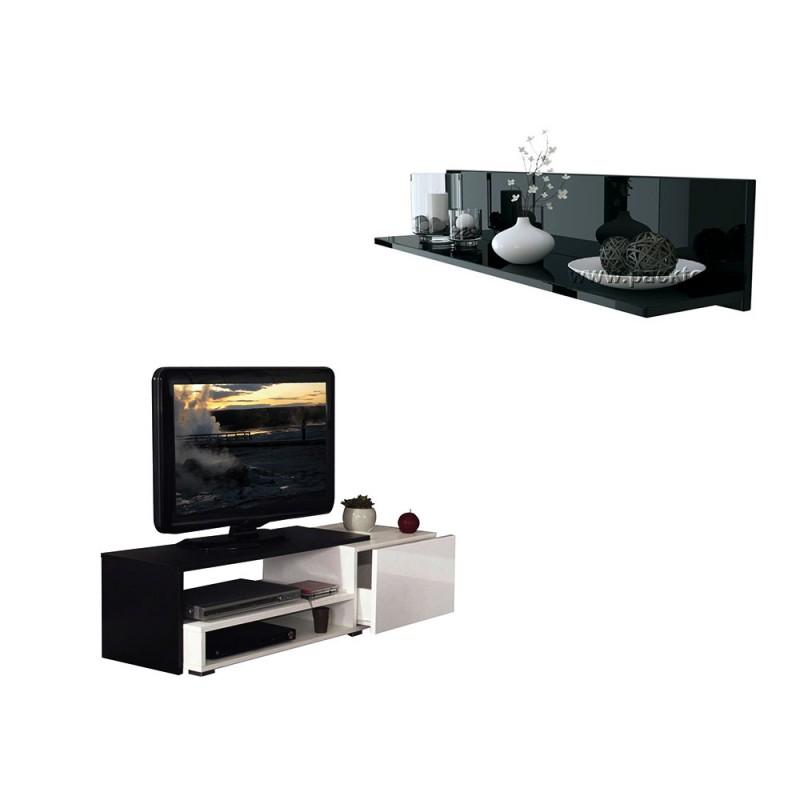 pack etag re murale skadu meuble tv casa meubles et d coration tunisie. Black Bedroom Furniture Sets. Home Design Ideas