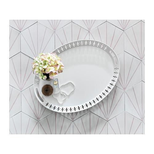 Plateau blanc 52x39 meubles et d coration tunisie for Meuble acier tunisie