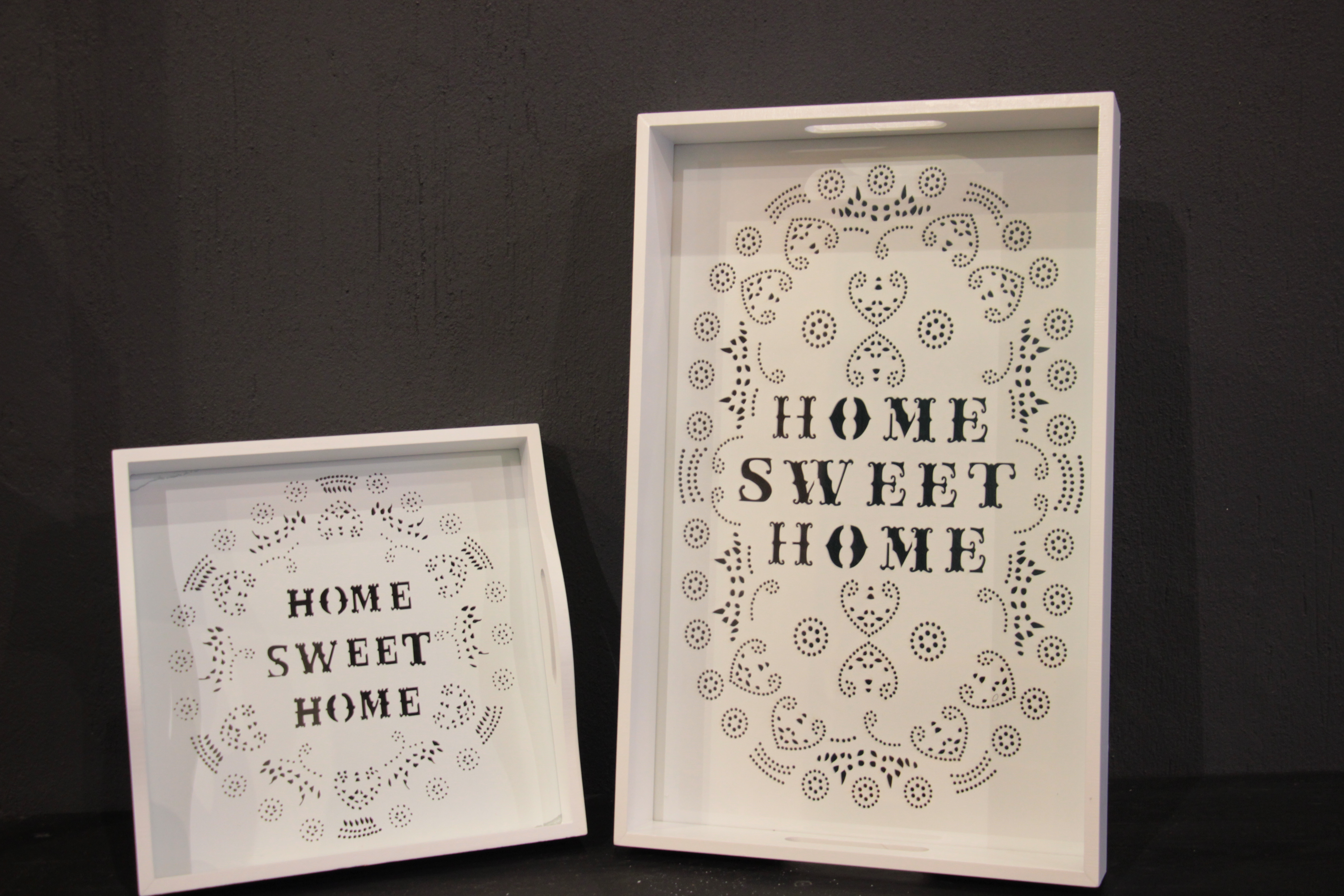 Plateaux home sweet home meubles et d coration tunisie for Sweet home meuble
