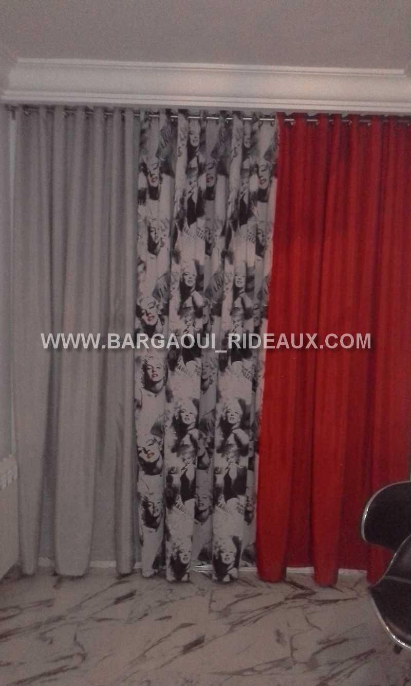 rideaux de salon en tunisie. Black Bedroom Furniture Sets. Home Design Ideas