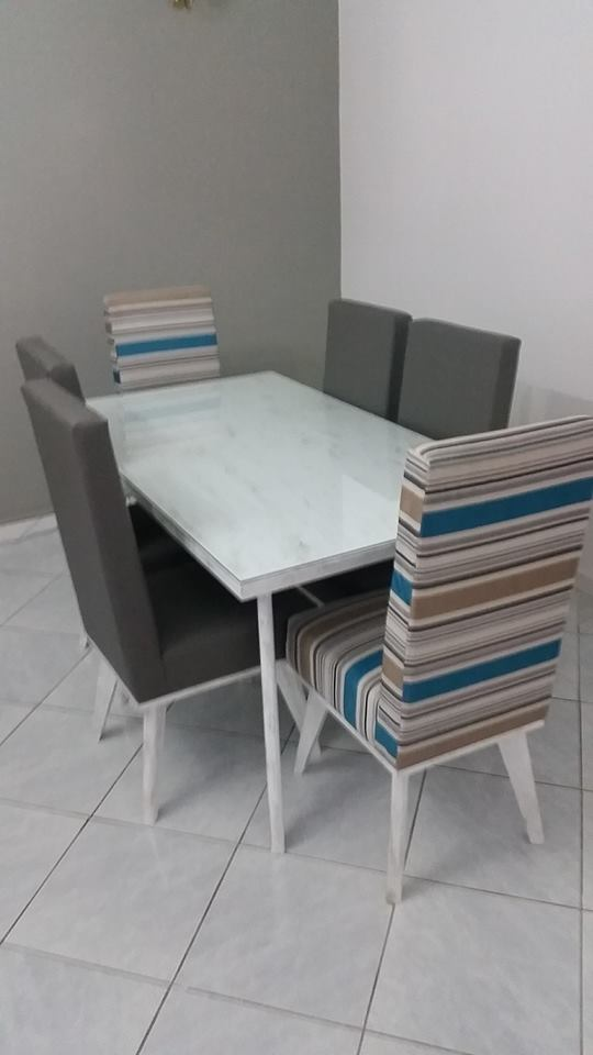 Salle manger amanda meubles et d coration tunisie for Meuble zen home tunisie