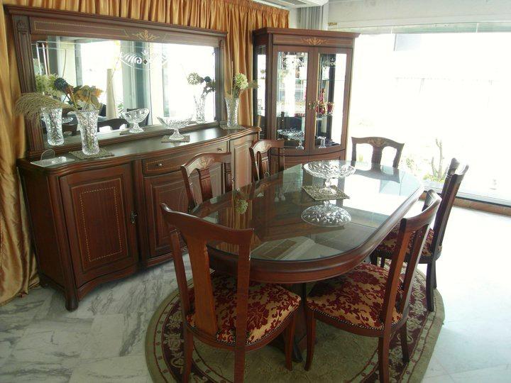 Salle a manger medaillon meubles et d coration tunisie for Restaurant salle a manger tunis