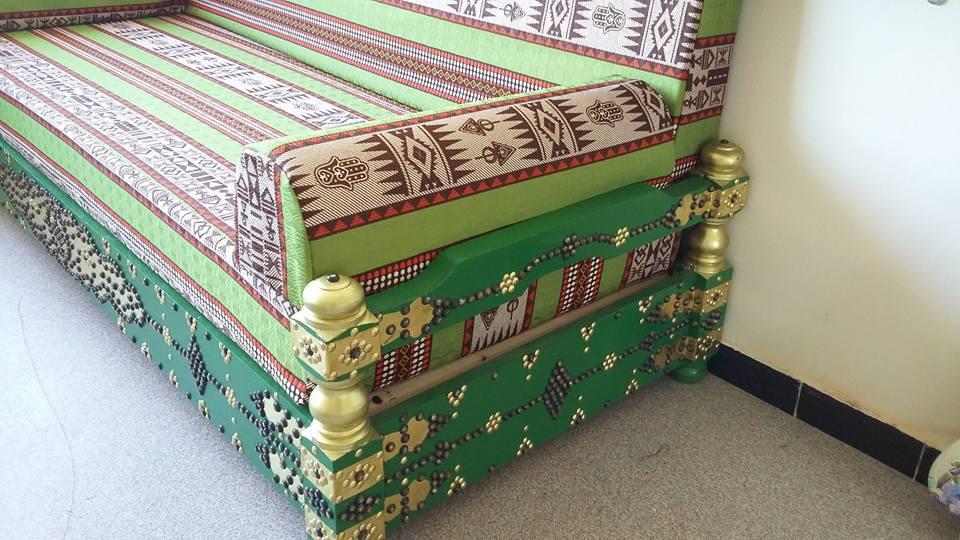 Salon arabesque meubles et d coration tunisie for Meuble arabesque tunisie