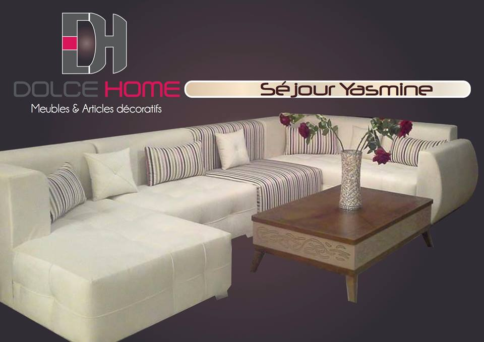 Salon yasmine meubles et d coration tunisie for Meuble aperitif salon