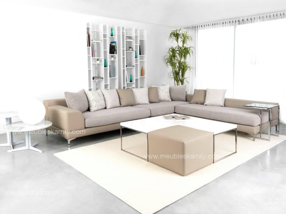 salon d 39 angle megara meubles et d coration tunisie. Black Bedroom Furniture Sets. Home Design Ideas