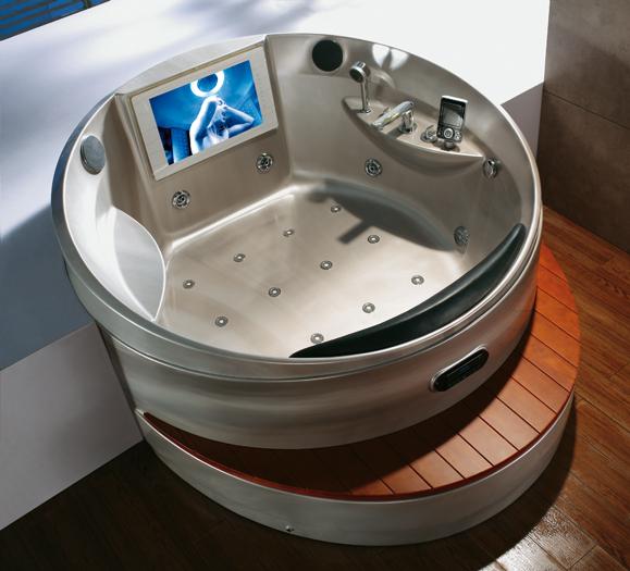 Spa jacuzzi avec toutes options d 39 hydro massage meubles for Salle de bain jacuzzi