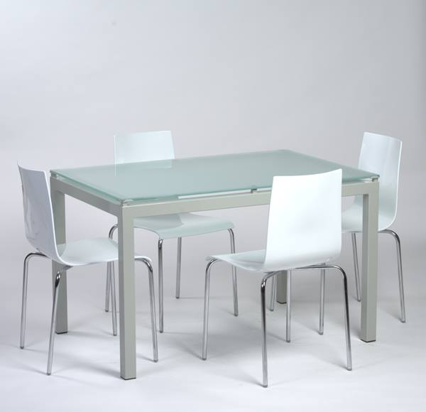 Table cuisine moderne design cuisine moderne table for Table de cuisine en verre