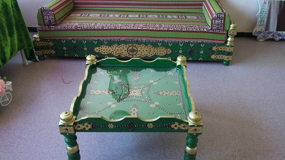 Table arabesque meubles et d coration tunisie for Meuble arabesque tunisie