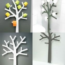 Porte papier toilette design arbre - Grand model-( H :1m60) - Meubles et décoration en Tunisie