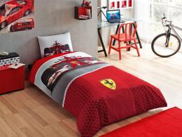 parure de lit enfant ferrari f1 meubles et d coration tunisie. Black Bedroom Furniture Sets. Home Design Ideas