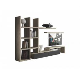 Meuble tv tanit meubles et d coration tunisie for Meuble tv zebra