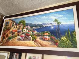Tableau peinture l 39 huile meubles et d coration tunisie - Vente tableaux peinture a l huile ...