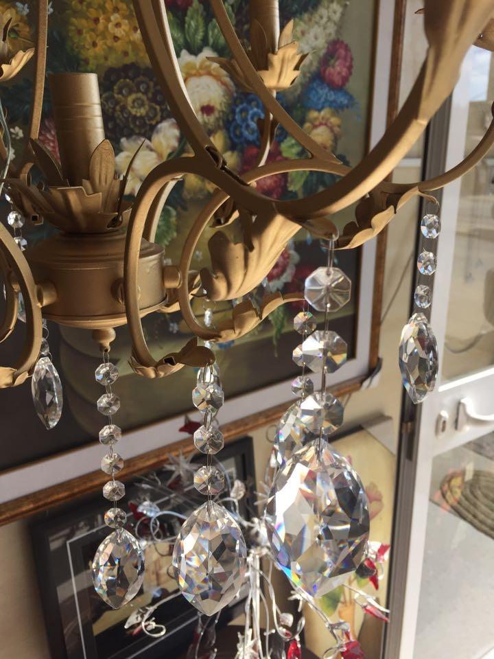 Lustre fer forgé 6+1 - Meubles et décoration Tunisie