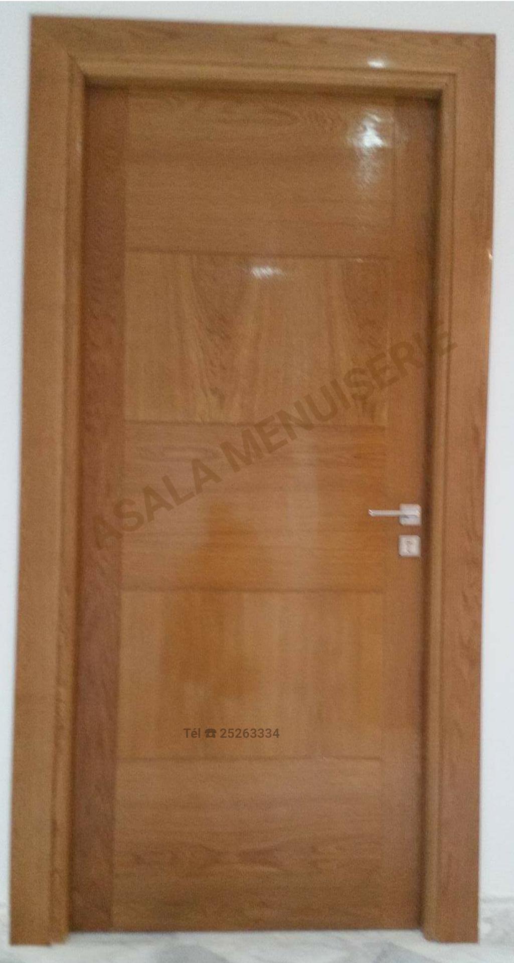 portes en bois nobles - Meubles et décoration Tunisie