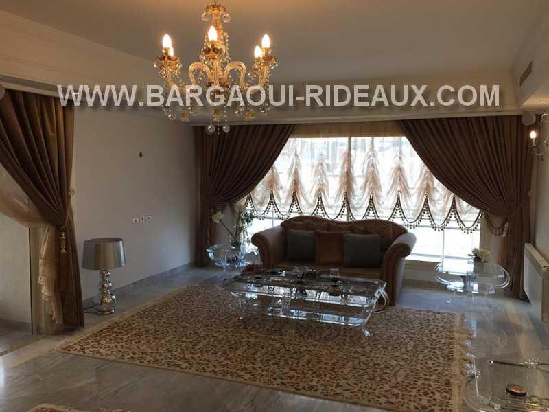 Rideau Moderne - Meubles et décoration Tunisie