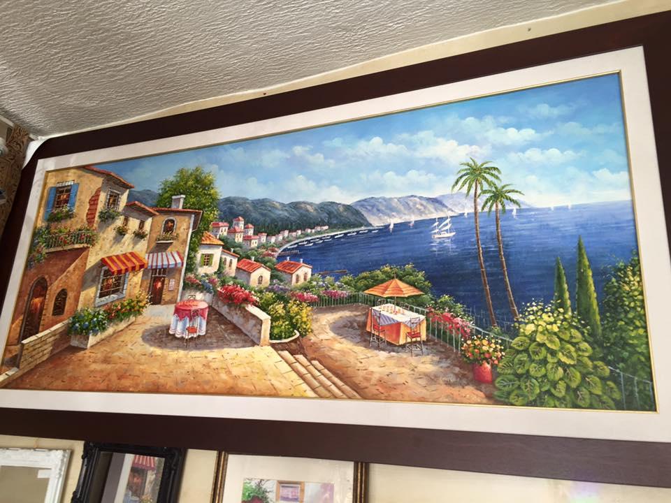Tableau Peinture à Lu0027huile   Meubles Et Décoration En Tunisie ...